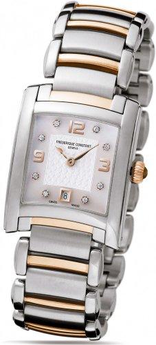 Frederique Constant Geneve Delight FC220WAD2EC2B Elegante orologio da donna con diamanti autentici