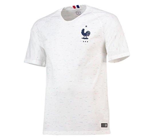 Soccl Weltmeisterschaft 2018 Frankreich Weg Fußballsachen Männer Kurzärmeliges Trikot,M