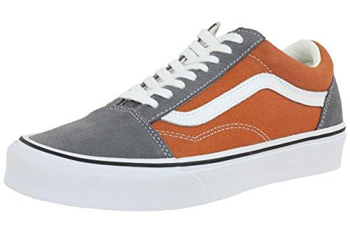 Vans Authentic - Zapatillas para hombre, color blk/whtckr, talla 42