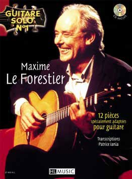 Guitare Solo N1 : Maxime le Forestier + CD --- Chant et Guitare