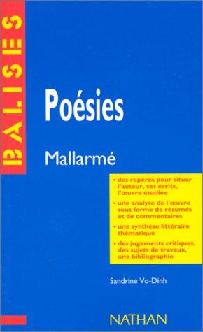 Poésies, Stéphane Mallarmé : Des repères pour situer l'auteur. par Dinh Vo