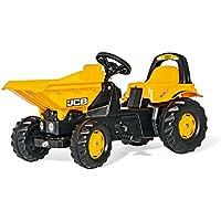 rolly toys - Coche de pedales JCB Dumper (24247)