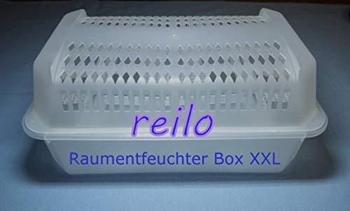 2x XXL Luftentfeuchter Raumentfeuchter Box leer, für Granulat im Vliesbeutel bis 1,2kg