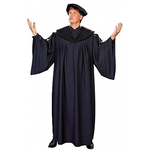 Reformator Kostüm Dr. Martin Luther Professoren Talar Mütze Reformationskostüm (Reformation Kostüme)
