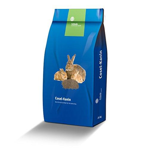 Schkade Landhandel GmbH Kaninchenfutter - Premium z.B. für ein schönes Fell oder Ausstellungskaninchen 25 kg Kaninchenpellets
