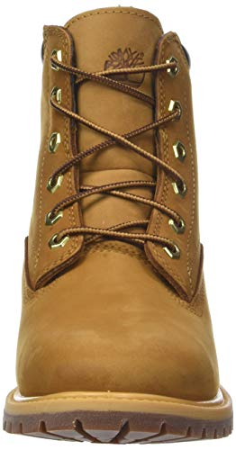 Timberland Women's Waterville 6 Inch Basic Waterproof Lace-up Boots 4