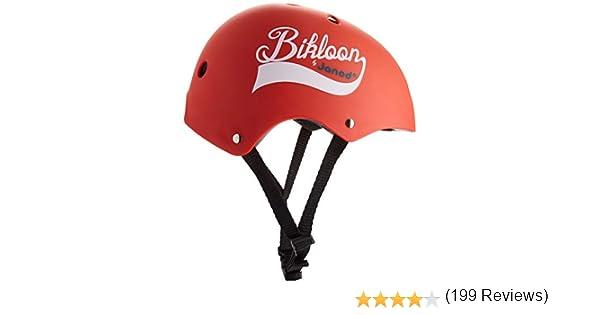 J03270 Bikloon Casque Rouge Pour Draisienne Janod