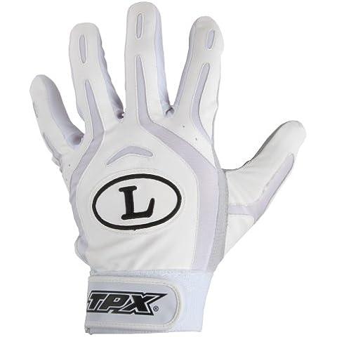 Louisville Slugger TPX Pro juventud diseño guante de bateo, blanco/White, pequeño
