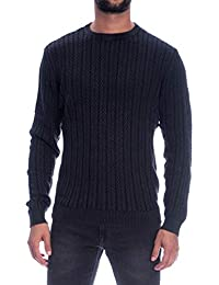 Hugo Sons 22010956 Only Maglione Uomo Nero amp; Washed qICwUO
