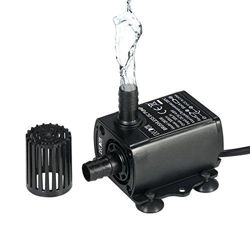 Esta es una bomba de agua sumergible de tamaño mini. Está equipada con un motor sin escobillas que proporciona un funcionamiento suave y silencioso en comparación con una bomba de agua sin escobillas.Caracteristicas: La bobina de alambre esmaltada y ...