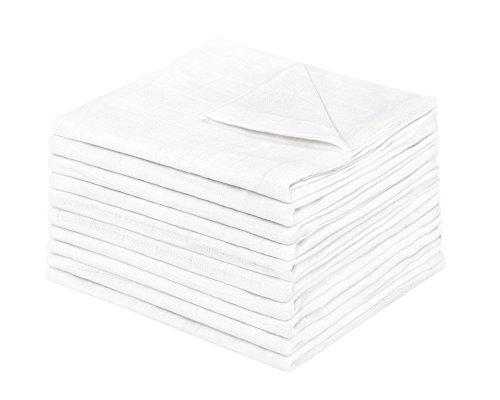 Julius Zöllner 8951050010pannolini 10er Pack, 80x 80cm, Bianco