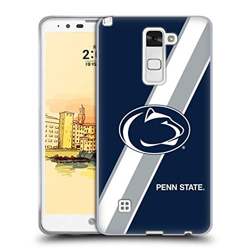 Head Case Designs Offizielle Pennsylvania State University PSU Streifen Soft Gel Huelle kompatibel mit LG Stylus 2 Str Stylus