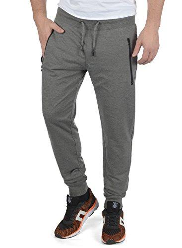 !Solid Taras Herren Sweatpants Jogginghose Sporthose Mit Fleece-Innenseite Und Kordel Regular Fit, Größe:XL, Farbe:Grey Melange (8236)