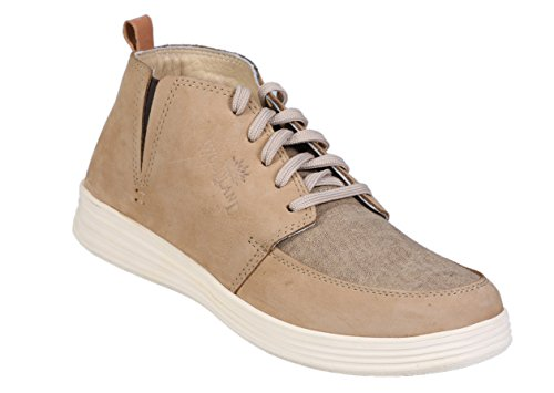 Woodland Men's Camel Sneakers - 7 UK/India (41 EU)(GB 2179116)  available at amazon for Rs.1500