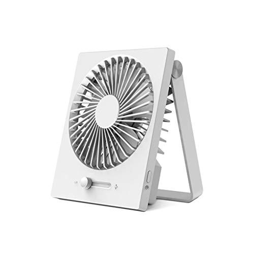MGMDIAN Lüfter mit Variabler Geschwindigkeit/Kleiner USB-Lüfter/Ladelüfter/Faltlüfter/vertikaler Lüfter/hängender Lüfter - Variable Geschwindigkeit Lüfter