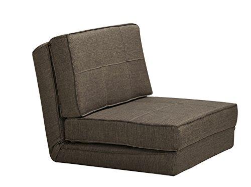 ARTDECO Schlafsessel Gästebett Jugendsessel Bettsessel (Stoffbezug Rind Klein) - Art-deco-möbel