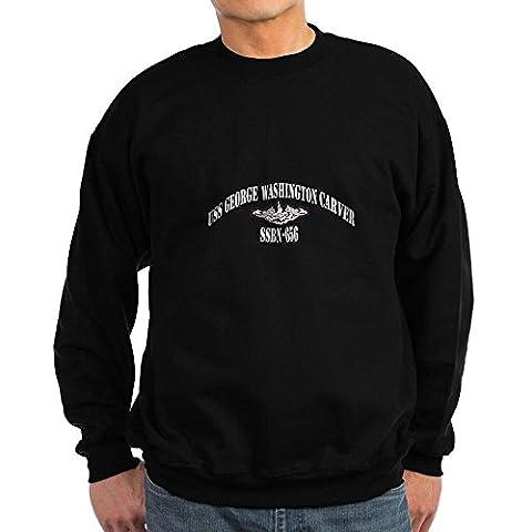 CafePress - USS GEORGE WASHINGTON CARVER - Classic Crew Neck Sweatshirt