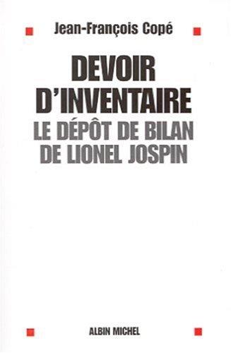 Devoir d'inventaire : Le Dépôt de bilan de Lionel Jospin
