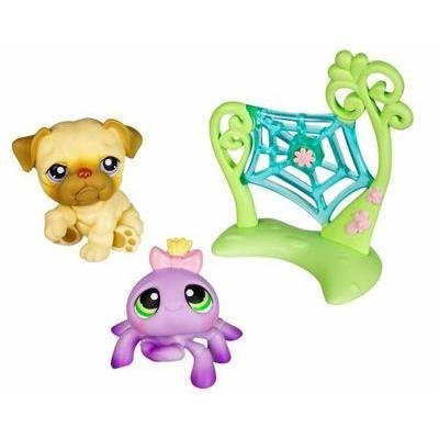Littlest Pet Shop Pet Pairs Figures Dog & Spider by Littlest Pet Shop