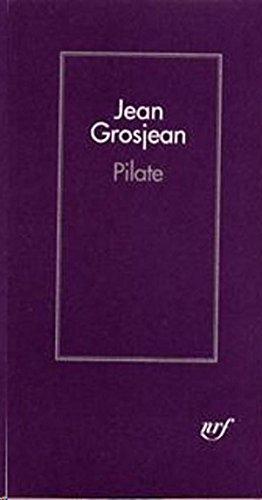 Lire Pilate pdf