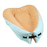 BABY NEST 0-24 Monate Multifunktions-Soft Sleeping Cribs Wickeltuch aus 100% Baumwolle für Neugeborene und Babys, 7, 80 * 50cm