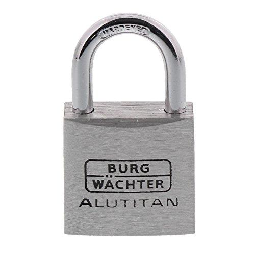 Burg-Wächter Vorhängeschloss, 2er-Set, 5 mm Bügelstärke, 4 Schlüssel, Duo 770 30 SB