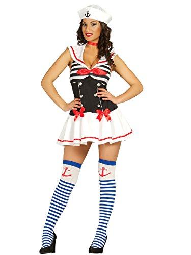 Toy Kostüm Soldiers - sexy Matrosin - Kostüm für Damen Gr. S - L, Größe:M