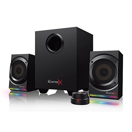 Creative Sound BlasterX Kratos S5 - Sistema de altavoces de juegos 2.1...