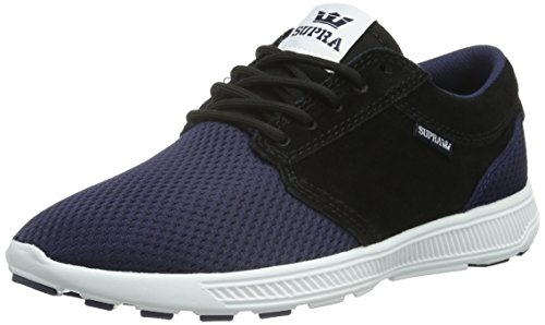 Supra Unisex-Erwachsene HAMMER RUN Low-Top, Blau (NAVY/BLACK - WHITE NVB), 42 EU