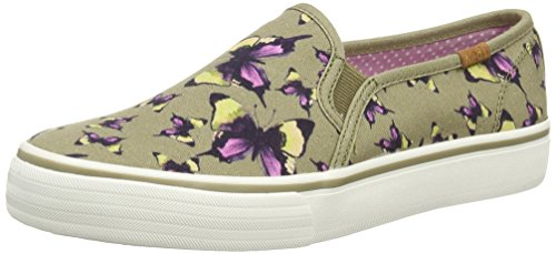 keds-dbl-deck-butterfly-chaussures-a-lacets-femme-vert-olive-355-eu