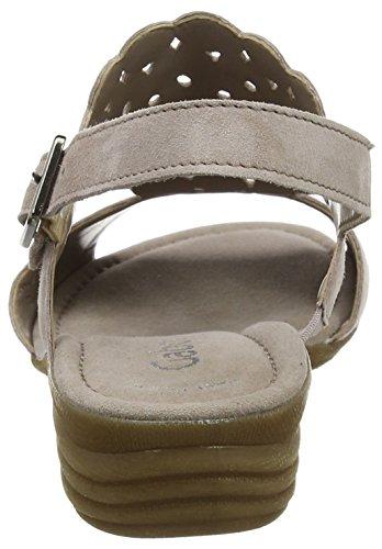 Gabor Shoes Fashion, Sandali con Zeppa Donna Beige (nude 10)