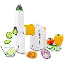 Beper Uniko - Corta-verduras + batidor eléctrico, color blanco