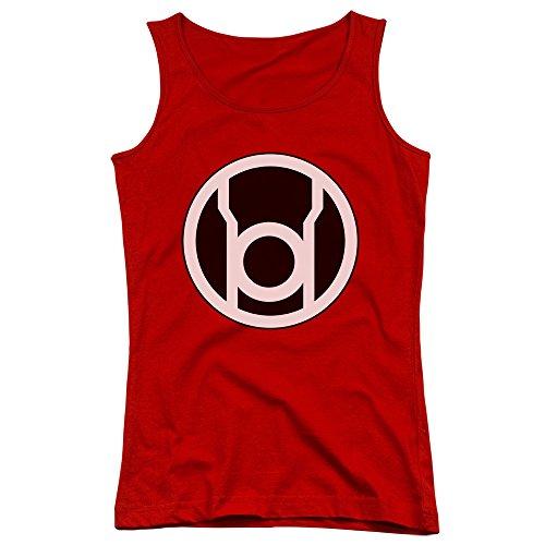 Green Lantern-Junior-Canottiera da uomo con Logo, colore: rosso