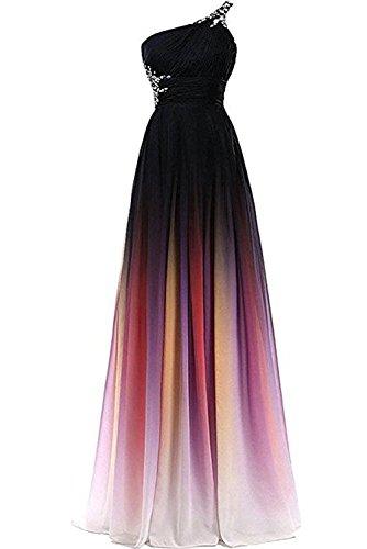 Victory Bridal 2018 Neu Traumhaft Ein-traeger Festkleid Lang Damen Abendkleider Ballkleider Partykleider -46 EFuchsie