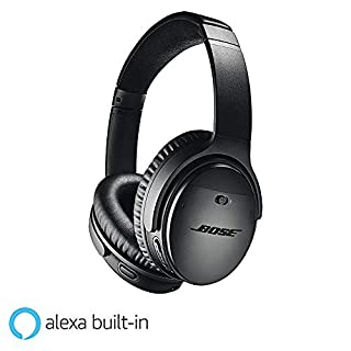 Bose QuietComfort 35 (Series II) Wireless Headphones, Noise Cancelling with Amazon Alexa - Black (B0756CYWWD) | Amazon price tracker / tracking, Amazon price history charts, Amazon price watches, Amazon price drop alerts