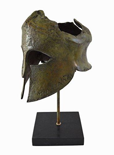 Miltiades casco bronce mármol Base de