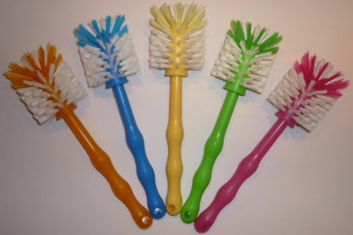 1 Stück Bürste Reinigungsbürste Klobürste, in 5 Farben, ideal für Thermomix TM5 / TM31 / TM21 / Mixtöpfe / Töpfe usw. - Fünf-sterne-küchenmaschine