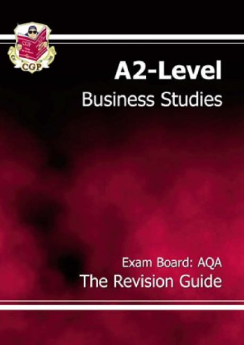 Used, A2-Level Business Studies AQA Revision Guide: AQA the for sale  Delivered anywhere in UK