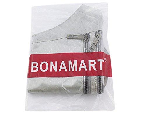BONAMART ® Damen Männer Tragbare Hüfttasche Gürteltasche Bauchtasche Schultertaschen Reise Sport Geldbörse Geldbeutel Grau