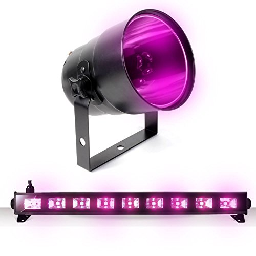 en Deco UV black-light UV Fantom + Projektor PAR38 (Fantome Halloween)