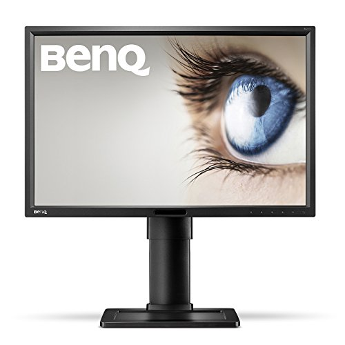 BenQ BL2411PT 24 inch Business Monitor (16:10 1920 x 1200, 10001:, 20M:1, 5 ms GTG, DVI/DP/Speakers) - Black