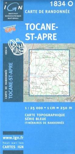 1834o Tocane-St-Apre par IGN