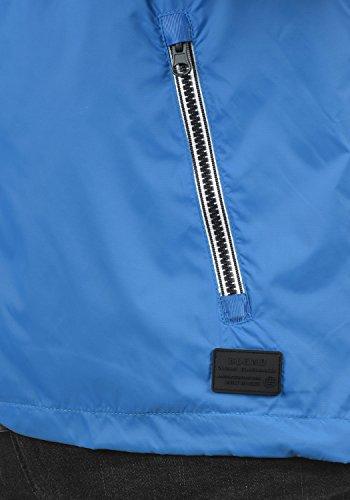 Blend Nevi Herren Windbreaker Regenjacke Übergangsjacke Mit Kapuze, Größe:S, Farbe:Nautical Blue (74632) - 5