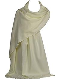 GFM® Ultra suave tacto de cachemira Pashmina suave estilo Wrap bufanda