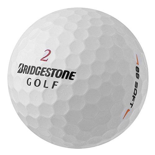 PearlGolf 25 Bridgestone E6 Soft - AAAA - AAA - weiß - Lakeballs - gebrauchte Golfbälle