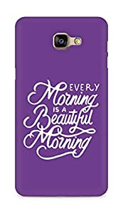 AMEZ every morning is a beautiful morning Back Cover For Samsung Galaxy A9