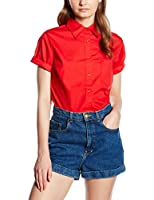 Fruit of the Loom Damen Hemd SS112M, X-Small