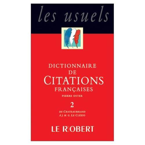 Le Dictionnaire des citations du monde entier