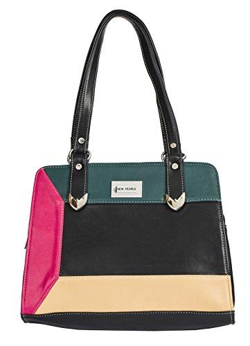 Big Handbag Shop, Borsa a mano donna Taglia unica Black