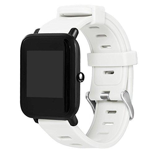 563a69fad749 LANSKIRT Deporte de Silicona de Correa de Pulsera de Repuesto Recambio  Brazalete Correa Reloj Deportivo Extensibles
